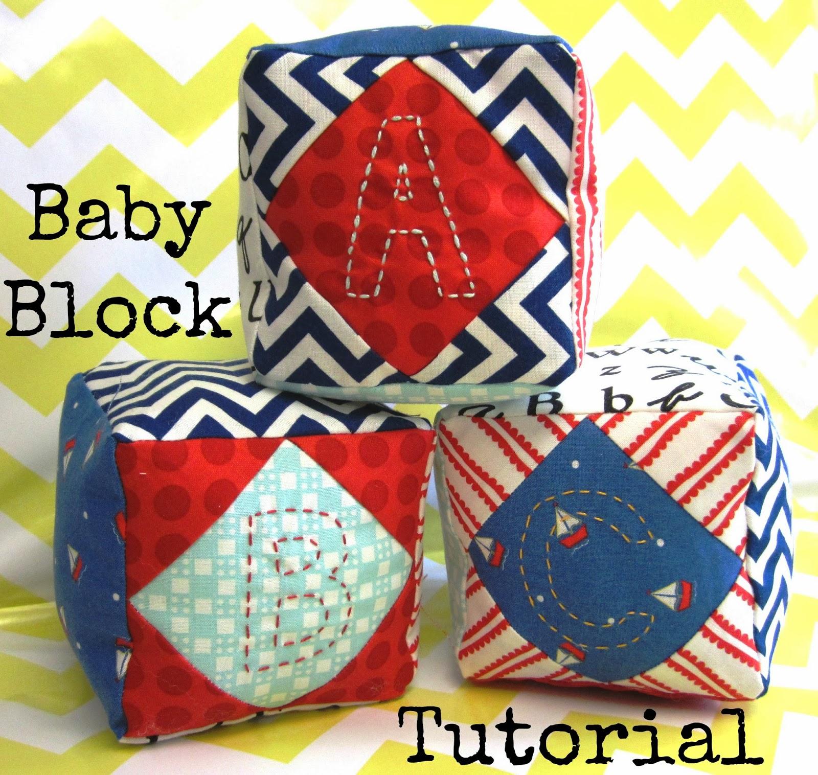 Sew Lux Fabric Designer Challenge: Baby Blocks