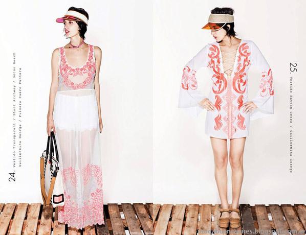 Delaostia vestidos priamvera verano 2014