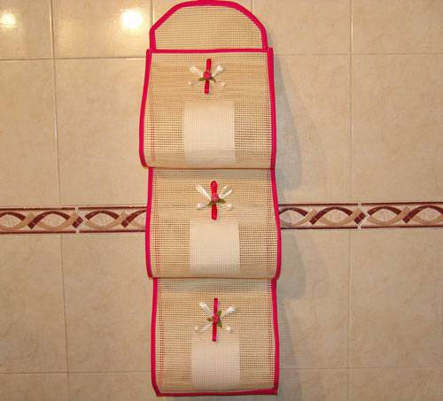 Organizador De Baño Manualidades:El Club De La Familia: Organizador de papel higiénico para el baño