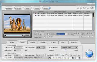 WinX DvD Ripper Film Ripping screen shot