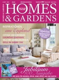 Our book featured in the German Homes & Gardens