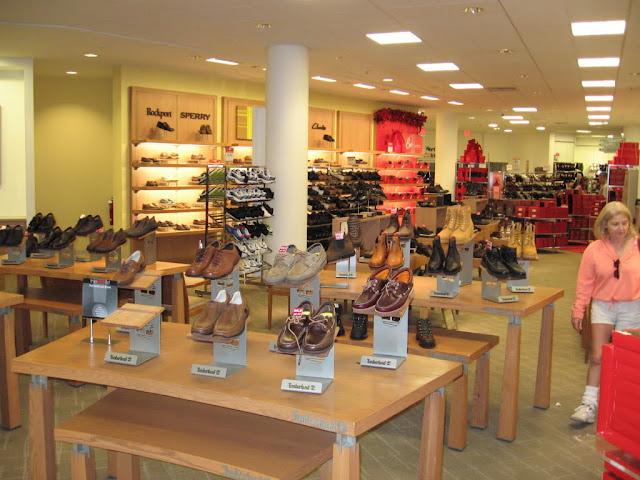Loja de Departamentos Macy's Sapatos