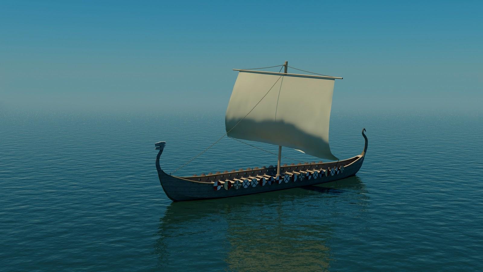 Viking Longships Plans