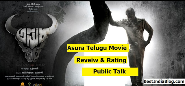 Asura Review, Asura Rating, Nara Rohit Asura Review, Asura Telugu movie Review Rating