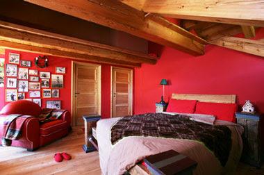 Print home decor al rojo vivo for Decoracion de habitaciones rusticas