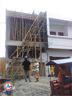 Pekerja Bangunan Ruko di Kompleks Pasar Raya Bima, Kritis Tersengat Listrik