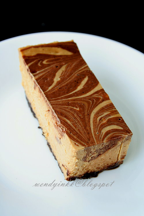 ... for 2.... or more: Coffee Marble Cheesecake - Baked Cheesecakes #2