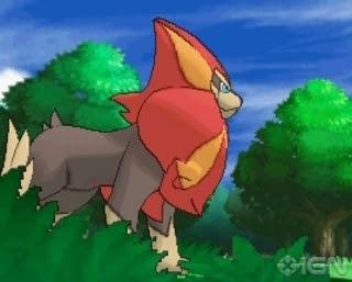 Pyroar Pokémon XY