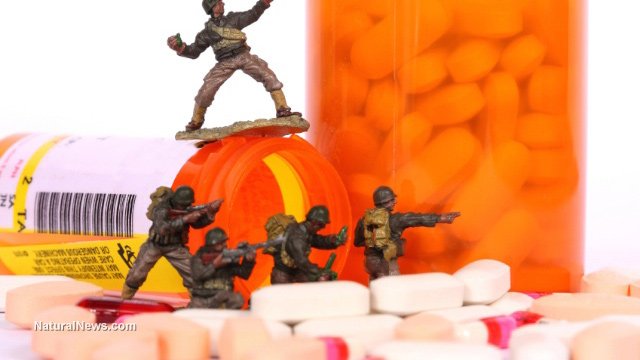 VA turns U.S. military vets into suicidal drug addicts while Big Pharma rakes in profits