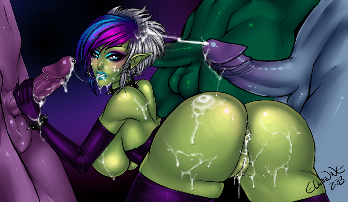Orc and night elf porn hentai images