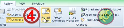 Proteksi Data Pada Lembaran Kerja di MS.Excel