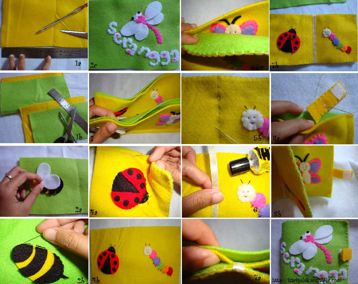 ... bahan pembuatan mainan anak. Selain bahan dasar kain Flanel, tentu