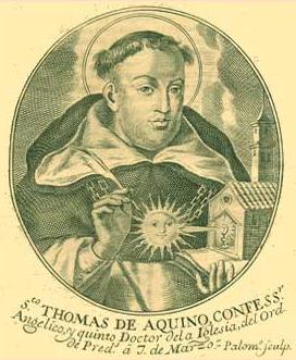 SANTO TOMÁS DE AQUINO DOCTOR DE LA IGLESIA (1225-1274). Fiesta  28 de Enero