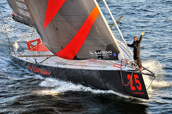 Dernière course pour Marc Guillemot et Safran sur le Rhum.