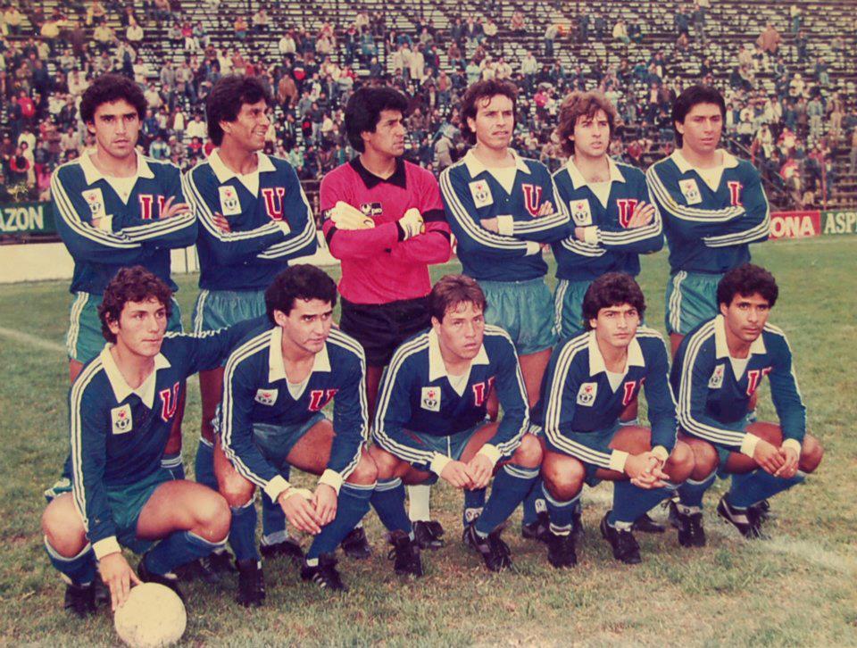 UNIVERSIDAD DE CHILE 1985 (diaz tejeda pacheco rodriguez reyes poblete ...