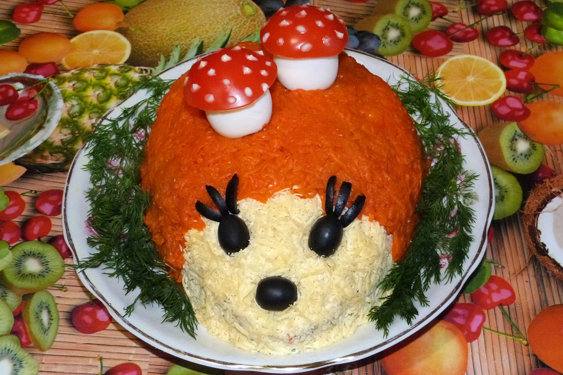салаты на день рождения на 1 год