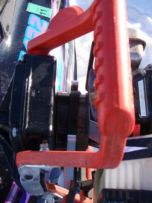 Snowmobile Ice Auger Carrier6