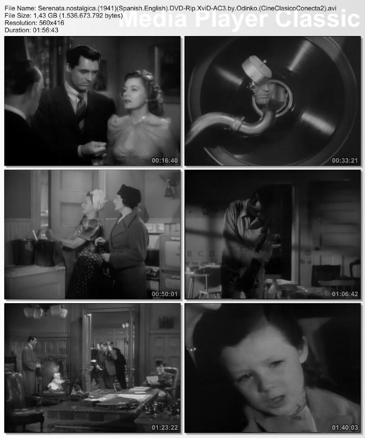 Serenata nostálgica | 1941 | Penny Serenade | Capturas de pantalla
