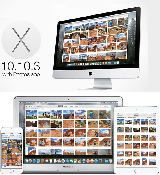 Download OS X 10.10.3 Yosemite Beta Combo / Delta Update .DMG Files - Direct Links