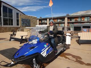 motoneta para neve em aspen