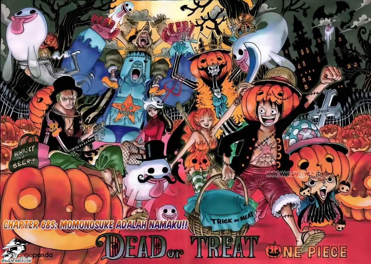 02 One Piece 685   Momonosuke, Itulah Namaku