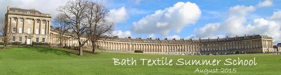 Bath Textile Summer School