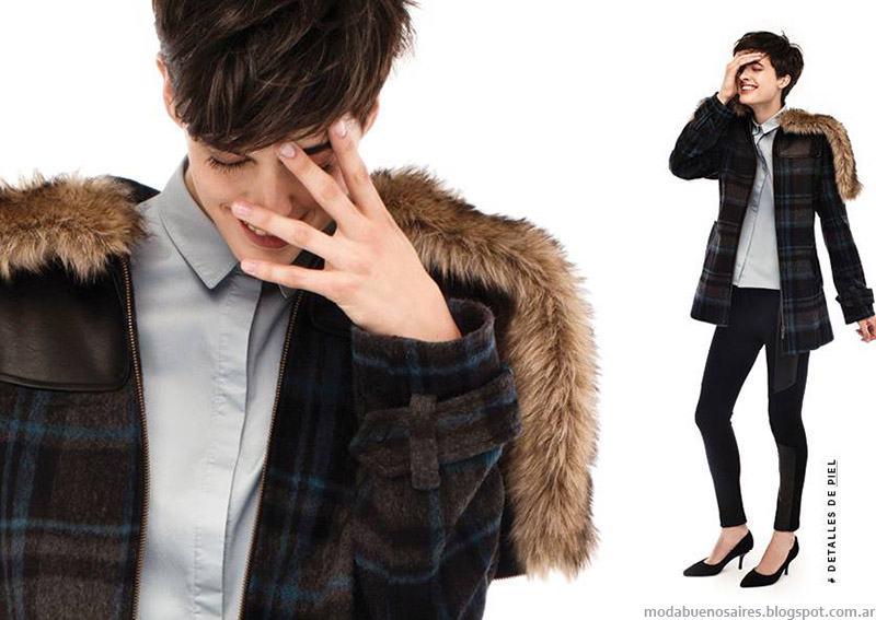 Portsaid moda abrigos otoño invierno 2015. Moda invierno 2015 camperas de mujer.