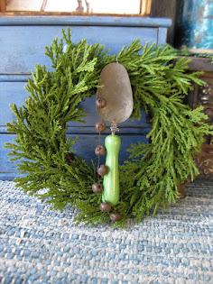 toy sugar scoop wreath