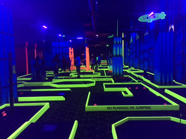 So You Think You Can Mom Summer Fun At Glow Zone Family