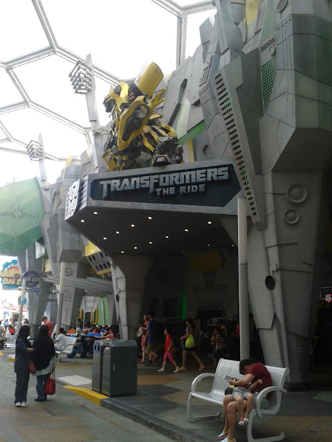 Transformers The Ride USS Singapore