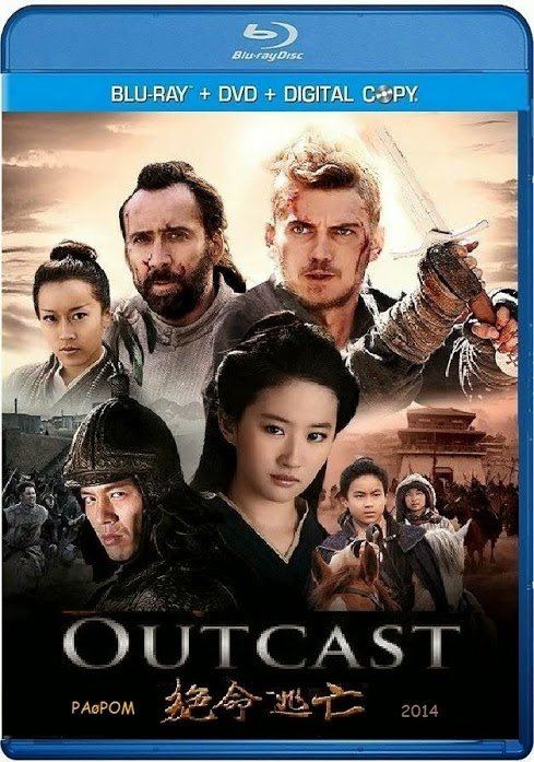 Outcast 2014 Dual Audio BRRip 480p 300MB ESub