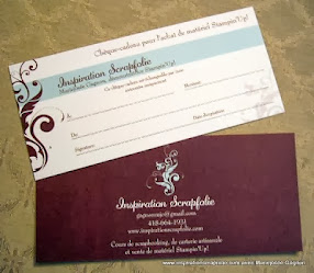 Certificats-cadeaux disponibles