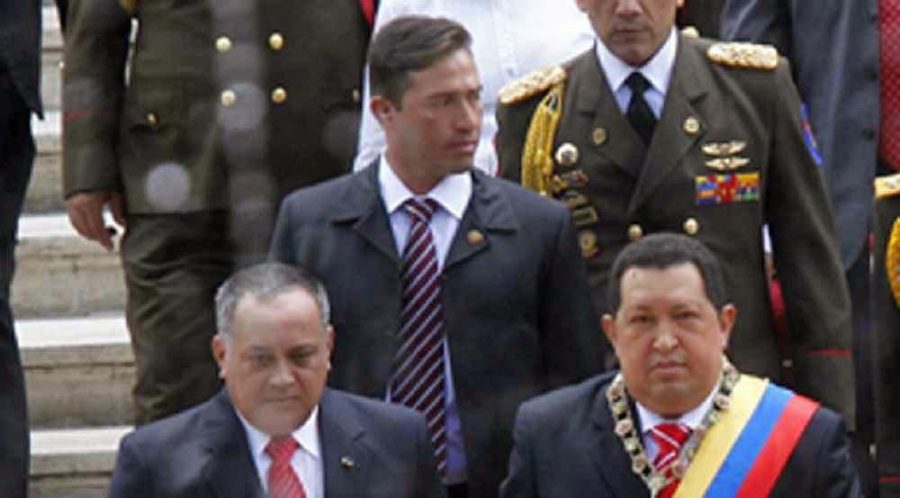 Leamsy Salazar, ex guarda-costas de Chávez e Diosdado Cabello