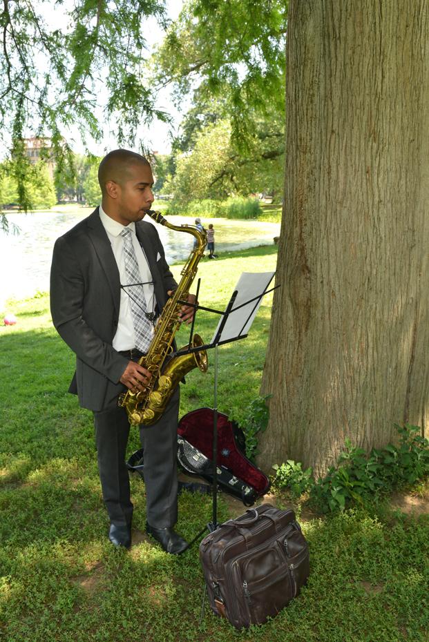 Harlem Meer - Saxophone Player