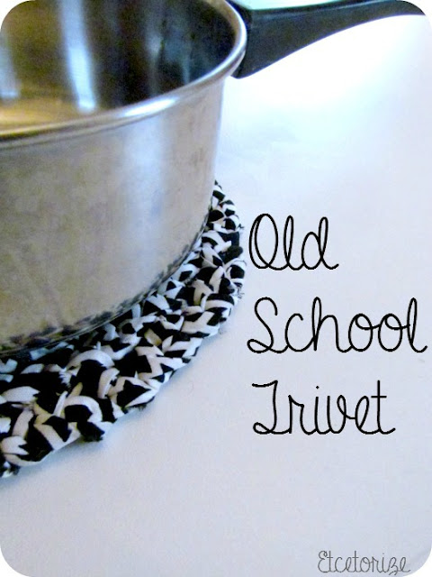 DIY Trivet, Handmade Trivet, DIY Kitchen crafts