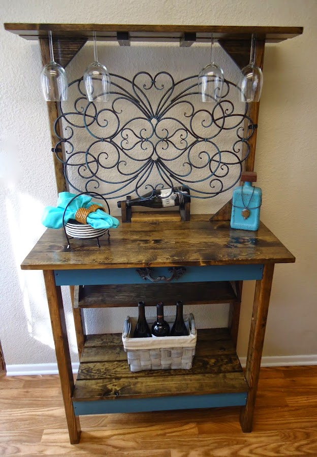 Wrought Iron Accent Table - SOLD