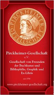 Sie werden die Pirckheimer-Gesellschaft unter diesem Banner finden.