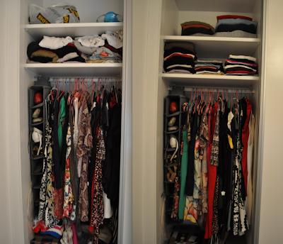 Mimi co como organizar un vestidor - Organizar bolsos ikea ...