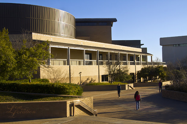 The LBJ Student Center at Texas State University, 365 photo project