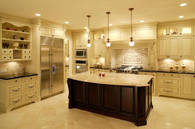 cocinas integrales decoradas de lujo
