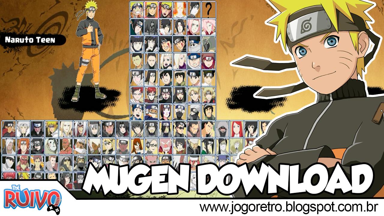 download naruto mugen pc free