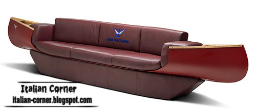 Unique Italian sofas furniture, interior sofas
