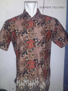 Gambar Baju Batik Bola MU