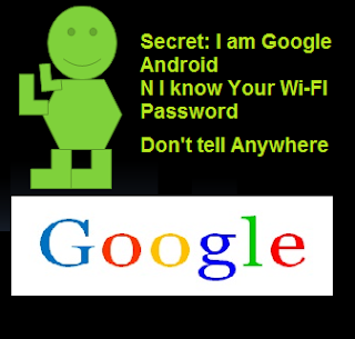 Google Android Know your Wi Fi Password