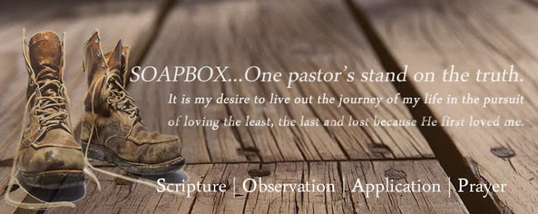 Soapbox...one pastor's stand on the truth.