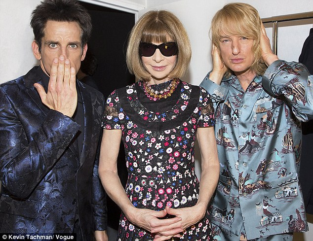Derek Zoolander and Hansel Hit the Maison Valentino Runway