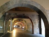 Mapa de París. Rambla de la Llibertat. Girona. Monuments.