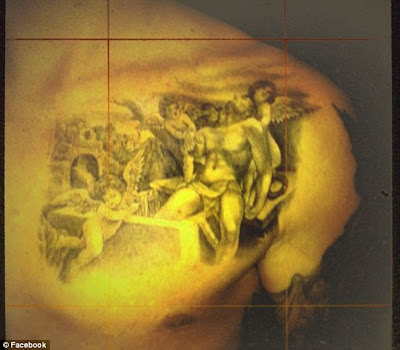 tattoo from mark mahoney a famous tattooist of mania in