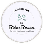 May Arts Ribbon Button