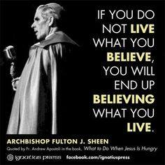 Archbishop Fulton J. Sheen ~ Pray For Us!